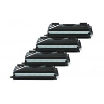 Alternativ zu Brother TN-7600 Toner Black Spar Set (4 Stück)