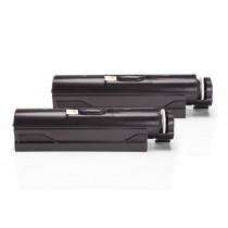 Alternativ zu OKI 44574702 Toner Schwarz Doppelpack