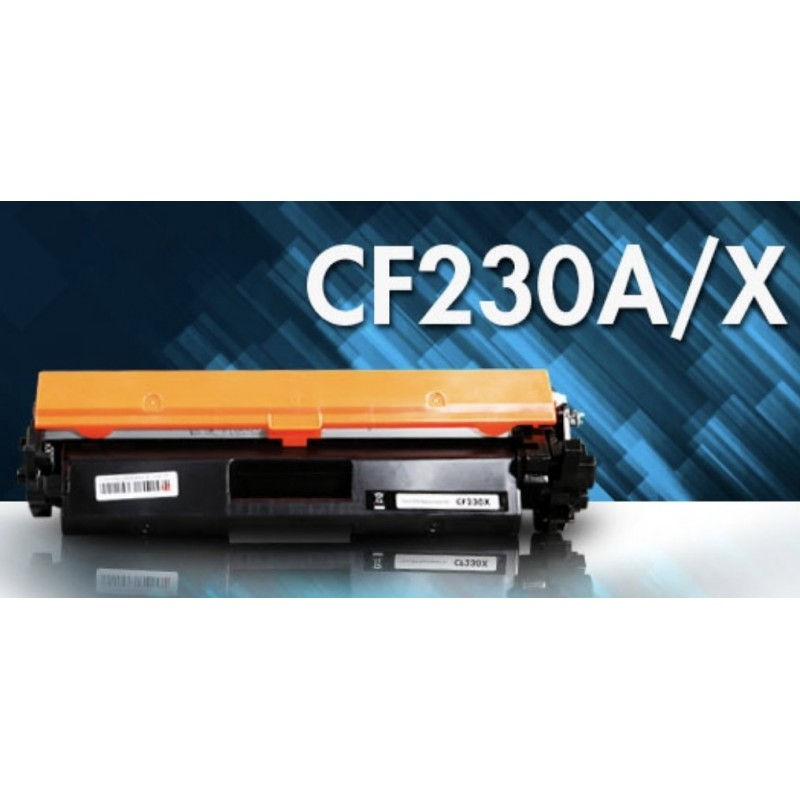 Alternativ zu HP CF 230 X / CF 230 A / 30X / 30A Toner Schwarz