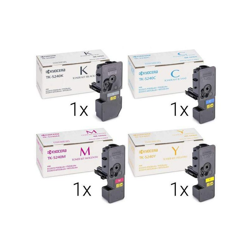 Kyocera Toner TK-5240K BK/C/M/Y Spar-Set/Multipack