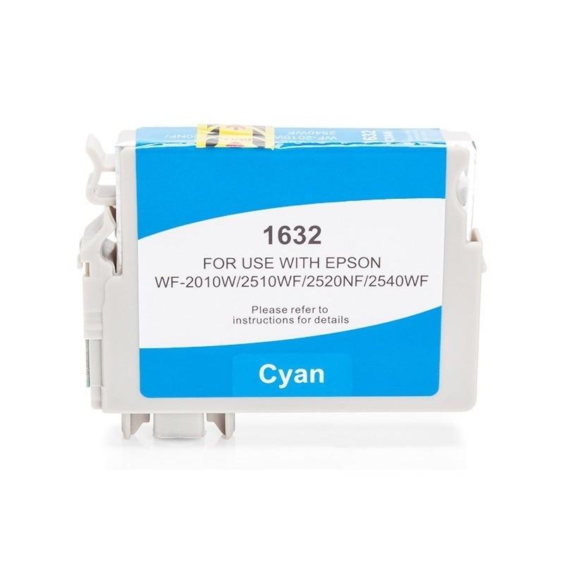 Alternativ zu Epson C13T16324010 / C13T16324012 / T1632 Tinte Cyan