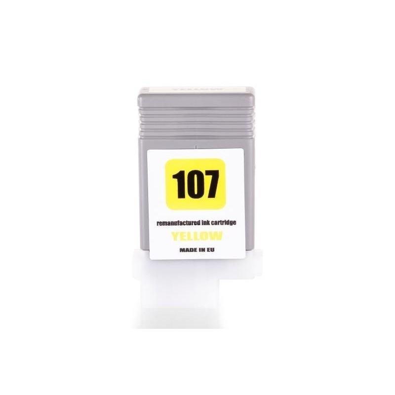 Alternativ zu Canon 6708B001 / PFI-107Y Tinte Yellow