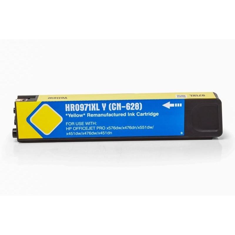 Alternativ zu HP CN628AE / Nr 971 XL Tinte Yellow