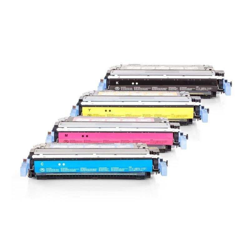 Alternativ zu HP Q6460A bis Q6463A Toner Spar Set