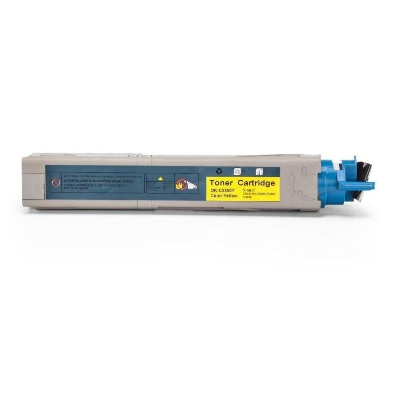 Alternativ zu OKI 43459329 / 43459433 Toner Yellow