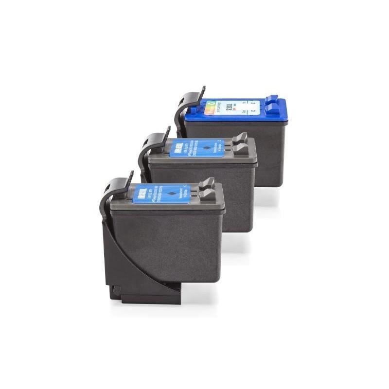 Alternativ zu HP SD400AE / 2x 21, 1x 22 Multipack (BK,C,M,Y)