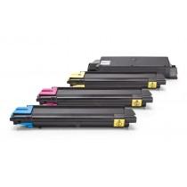 Alternativ zu Kyocera 1T02KT0NL0 - 1T02KTCNL0 / TK-580 Toner Spar-Set XL Schwarz, Cyan, Magenta, Gelb