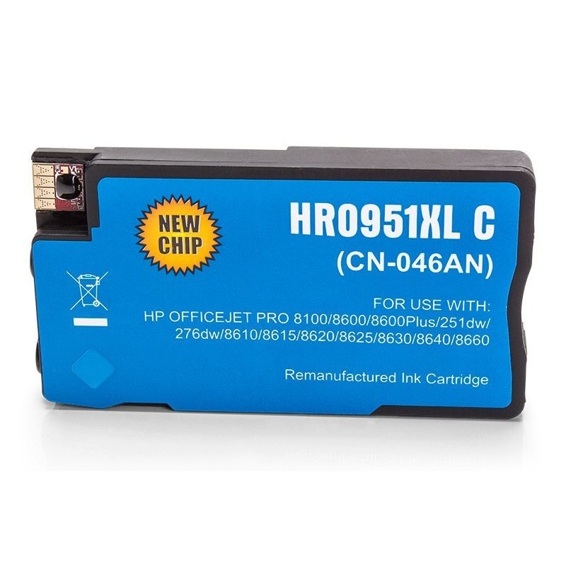 Alternativ zu HP CN046AE / 951XL Tinte Cyan