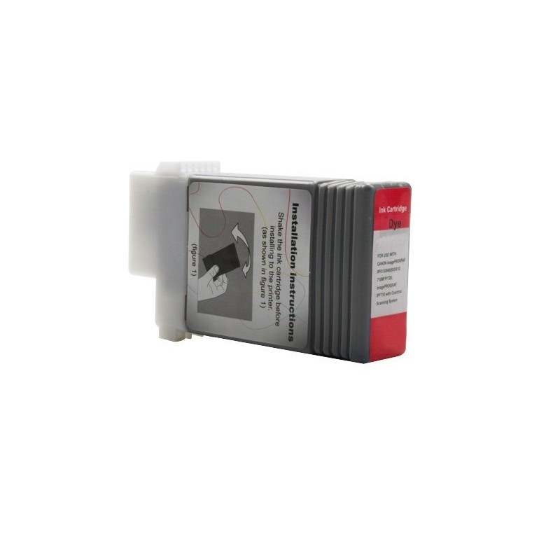 Alternativ zu Canon 0889B001 / PFI-101R Tinte Rot