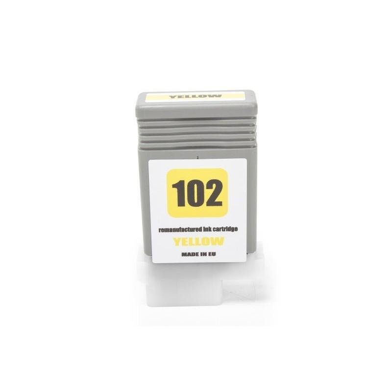 Alternativ zu Canon 0898B001 / PFI-102Y Tinte Yellow