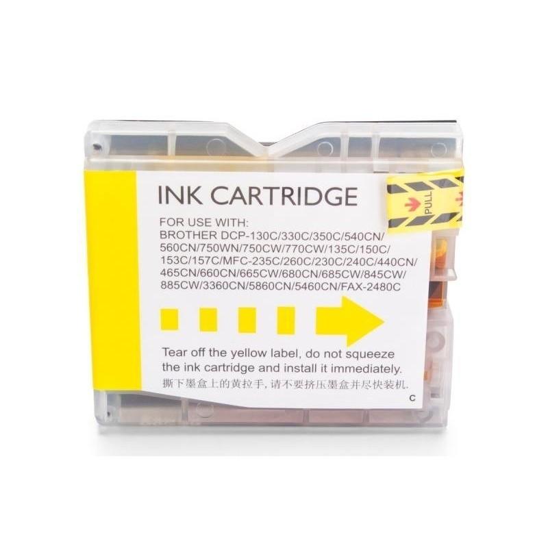 Alternativ zu Brother LC-970 Tinte Yellow