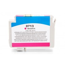 Alternativ zu Epson C13T07134010 / C13T07134012 / T0713 Tinte Magenta