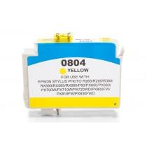 Alternativ zu Epson C13T08044010 / T0804 Tinte Yellow