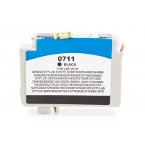 Alternativ zu Epson C13T07114010 / C13T07114012 / T0711 Tinte Black