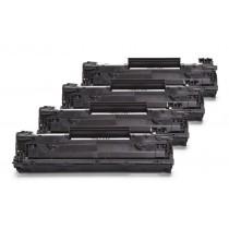 Alternativ zu HP CE278A Toner Black Spar Set (4 Stück)
