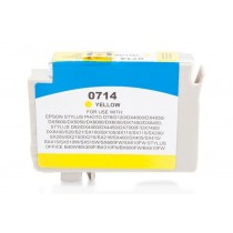 Alternativ zu Epson C13T07144010 / C13T07144012 / T0714 Tinte Yellow