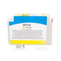 Alternativ zu Epson C13T07144010 / C13T07144012 / T0714 Tinte Yellow