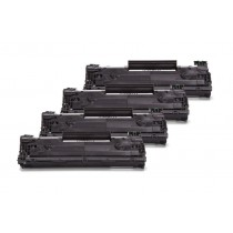 Alternativ zu HP CE285A XXL Toner Black Spar Set (4 Stück)