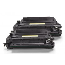 Alternativ zu HP CE255XD / 55X Toner Black Doppelpack