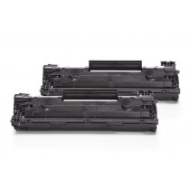 Alternativ zu HP CB436AD / 36A Toner Black Doppelpack