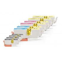 Alternativ zu Epson C13T26364010 / C13T26364012 / 26 XL Multipack (4xBK, je 2xC,M,Y) 10 Stück