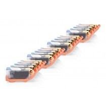 Alt. zu Canon CLI-521 Tinten Spar-Set (je4xFBK,BK,C,M,Y) 20 Stück mit Chip