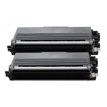 Alternativ zu Brother TN-3390 Toner Black Doppelpack