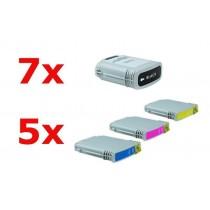 Alternativ zu HP Nr 88 XL Tinten Spar-Set (7xBK, je 5xC,M,Y) 22 Stück