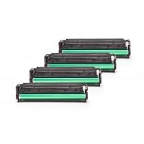 Alternativ zu HP CF210X - 213A / 131X Toner Spar-Set (Schwarz, Cyan, Magenta, Gelb)