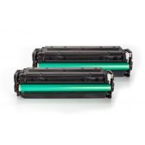 Alternativ zu HP CC530AD / 304A Toner Schwarz Spar-Set (2 Stück)