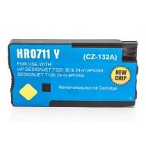 Alternativ zu HP CZ132A / 711 Tinte Yellow