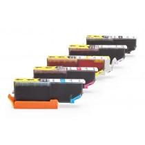 Alternativ zu Epson C13T24384010 / C13T24314012 / 24 XL Tinten Multipack (6 Stück)