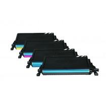 Rebuilt zu Samsung CLP-660 Toner Spar-Set