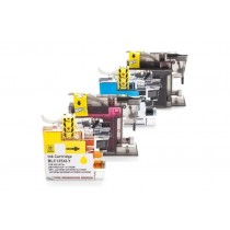 Alternativ zu Brother LC-127 XL VALBP Tinten Multipack (BK,C,M,Y) mit Chip