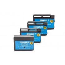 Alternativ zu HP C2P42AE / 932 XL - 933 XL Tinten Spar-Set (Schwarz, Cyan, Magenta, Gelb)