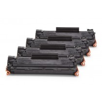 Alternativ zu HP CE278A XXL Toner Black Spar Set (4 Stück)