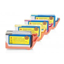 Alternativ zu HP C2N92AE / Nr. 920 XL Tinten Spar-Set (BK,C,M,Y) 4 Stück