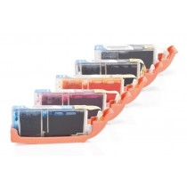 Alternativ zu Canon CLI-551 XL /PGI-550 XL Multipack (PBK,BK,C,M,Y) 5 Stück