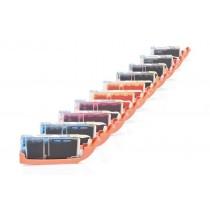 Alternativ zu Canon CLI-551 XL /PGI-550 XL Multipack (PBK,BK,C,M,Y) 10 Stück