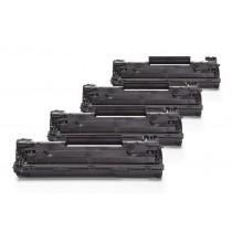 Alternativ zu HP CB436A / 36A Toner Spar Set (4 Stück)