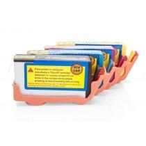 Alternativ zu HP Nr. 364 XL Tinten Spar-Set (BK,C,M,Y) 4 Stück (m.Chip)