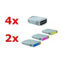 Alternativ zu HP Nr 88 XL Tinten Spar-Set (4xBK, je 2xC,M,Y) 10 Stück