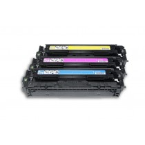 Alternativ zu HP CF371AM / 128A Toner Spar-Set (Cyan, Magenta, Gelb)