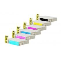 Alternativ zu Epson T0801-T0806 Spar-Set (je2xBK,C,M,Y+LC,LM)10Stück