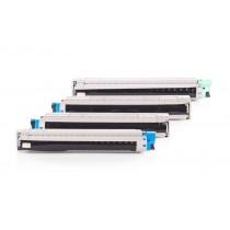 Alternativ zu OKI 44643004-44643001 Toner Spar-Set (BK,C,M,Y) 4 Stück