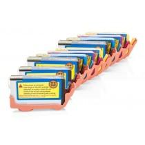 Alternativ zu HP Nr. 364 XL Tinten Spar-Set (4x Schwarz, 2x Cyan, 2x Magenta, 2x Gelb) 10 Stück (mit Chip)