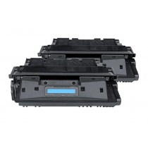 Alternativ zu HP C8061XD / 61X Toner Black Doppelpack